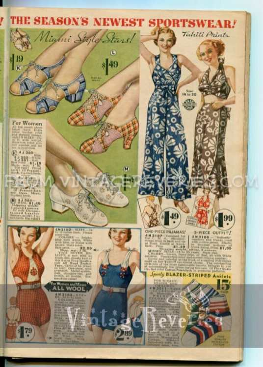 1935 Swimsuit advertisement