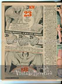 1935 panties and bloomers advertisement
