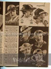 womens hat fashions 1935