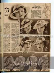 1930s mothers day hat fashions