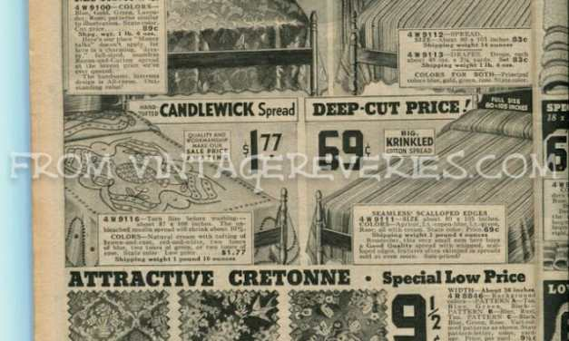 8f59a2f75 1935 Chicago Mail Order Company Catalog Archives - VintageReveries ...