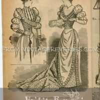 1892 Fashion Magazine - 10 scans from the Delineator
