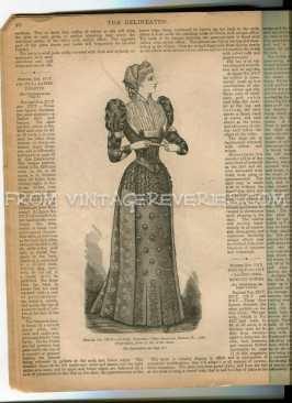 1892 ladies dress
