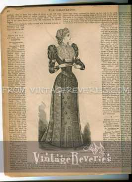 1892 ladies dress