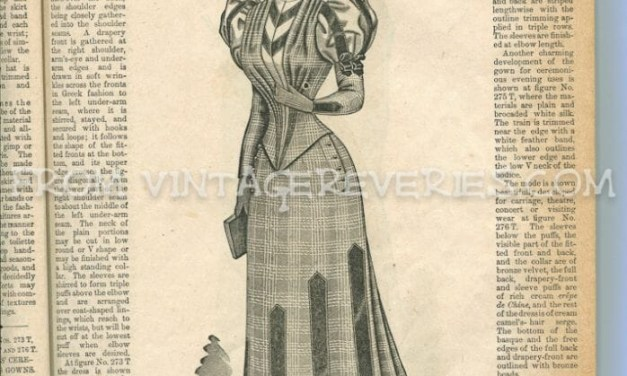 Fashions for January 1892