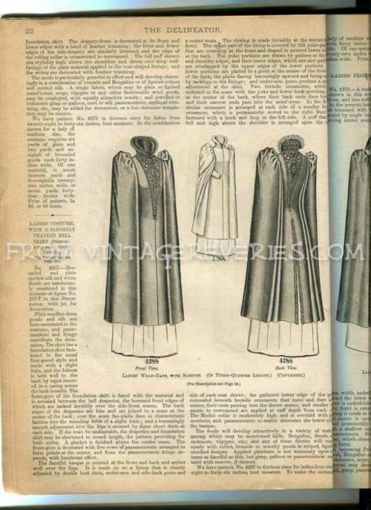 1890s winter fashions