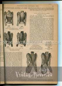1892 Ladies Basque Fashion Illustrations