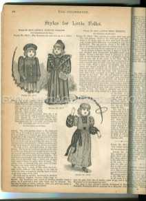 1890s childrens fashion illustrations