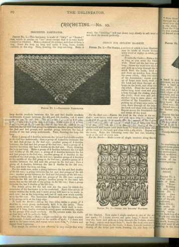 free victorian crochet patterns