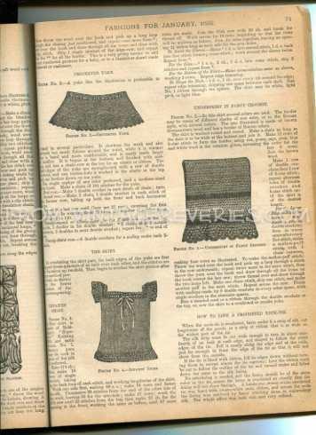 free victorian knit lace pattern