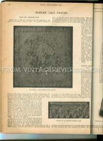 marie Antoinette lace pattern
