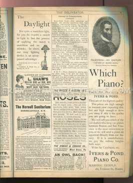 1890s piano advertisement
