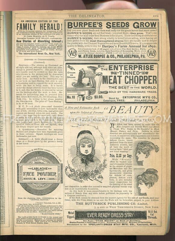 victorian beauty advertisement
