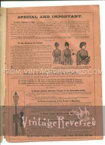 how to measure for a victorian pattern
