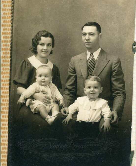 1930s nun and family photos