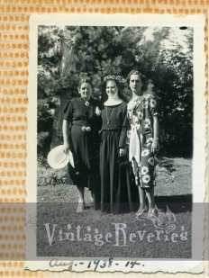 1930s nun with two women