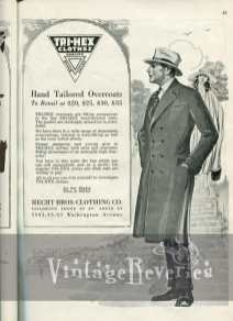 1920s mens coat fashion illustration