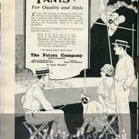 1920s advertisements - mainly mens fashions
