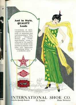 1924 International Shoe Company advertisement