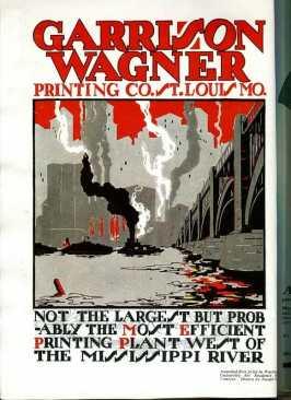 1920s printing company ad