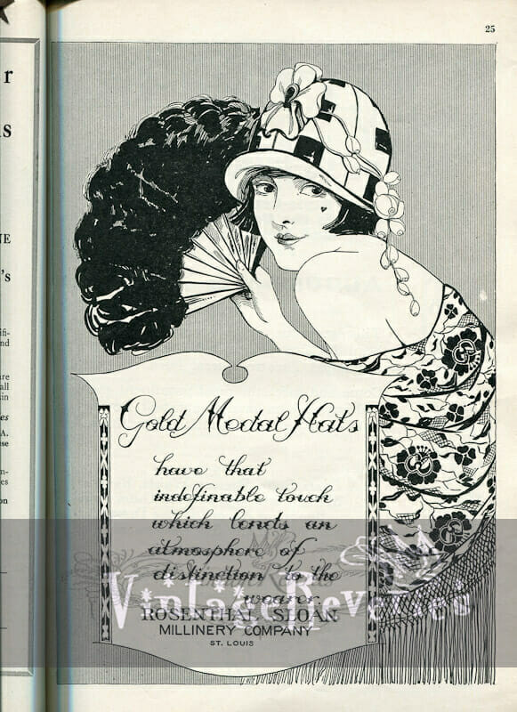 1920s Women's Fashions Advertisements