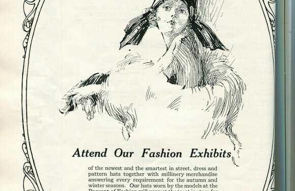 1924 Hat advertisement