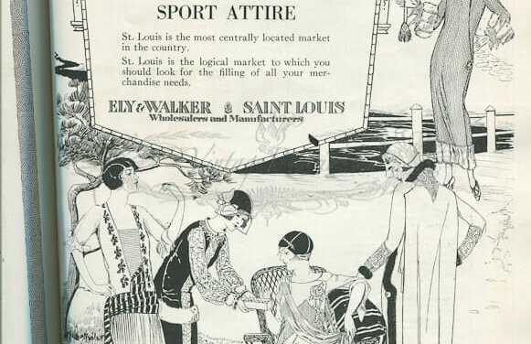 1920s St. Louis Fashion Advertisements