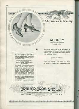 shoe fashions 1920s