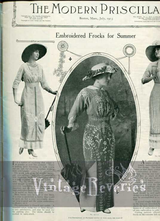 The Modern Priscilla July 1913