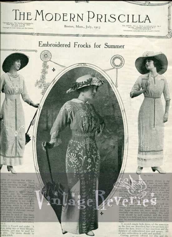Edwardian summer fashions