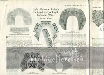 edwardian collar designs