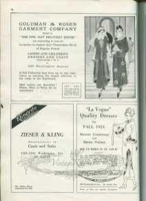 1920s fashion advertisements