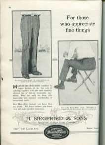 wholesaler fashion ad st louis 1920s