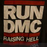 1986 Run DMC Raising Hell Tour Tshirt - RARE