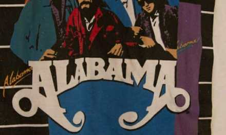 1986 Alabama In Concert Tour Country Music T Shirt
