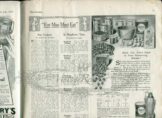 housekeeping advice early 1900s
