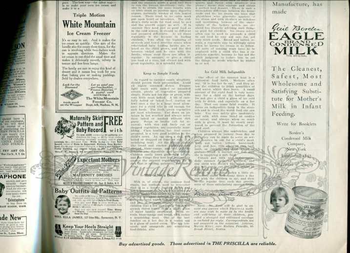 vintage advertisement scans