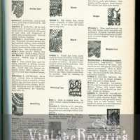 Lace identification guide and illustrations, and I - Lambskin