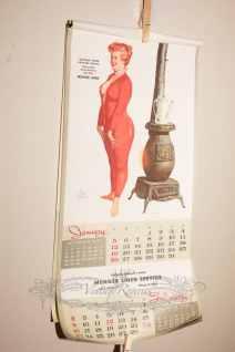 Hilda calendar 1958