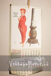 january 1958 calendar