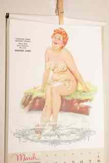 50s cheesecake calendar