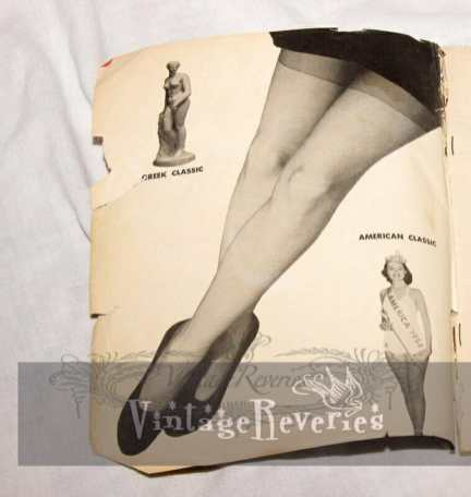 1950s pinup legs
