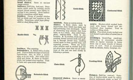 Types of Stitches thru Tunics & Turbans