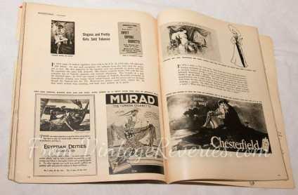 cigarette ads 1860-1950