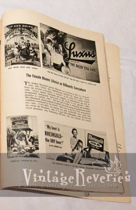 vintage beer billboards
