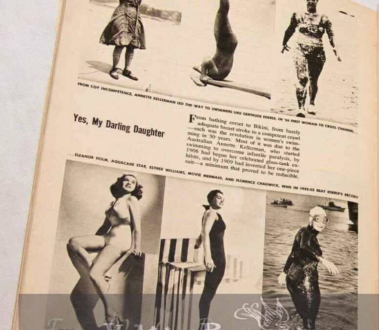 History of Women's Swimwear and Sports Fashions