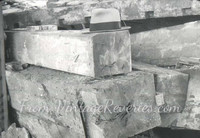 1920s wood beams