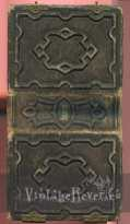 photo album front and back
