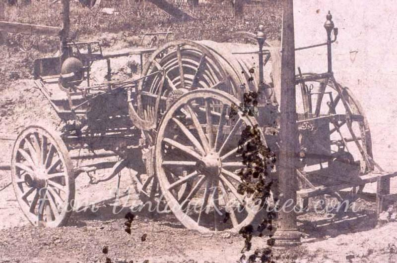 fire cart 1900s
