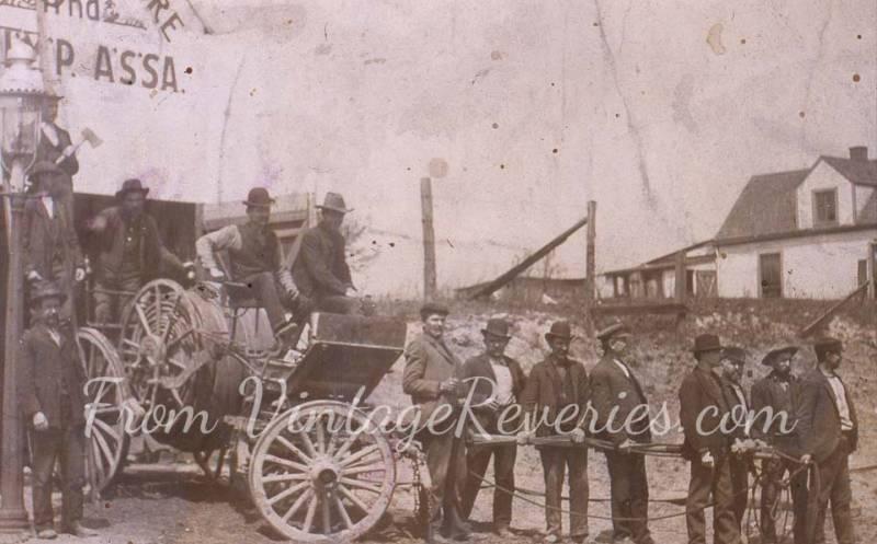 early 1900s firemen
